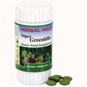 Herbalhills Prime Super greenhills 60 tablets