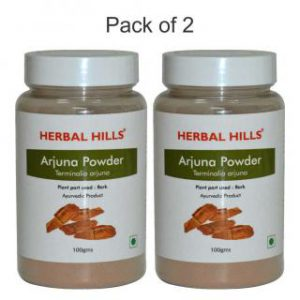 herbalhills prime arjuna powder pack of 2