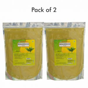 Mehandi powder - 1 kg powder - Pack of 2