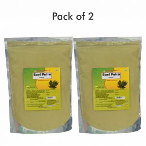 Baelpatra Powder - 1 kg powder - Pack of 2