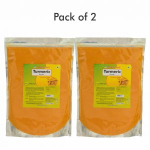 Turmeric Powder - 1 kg powder - Pack of 2