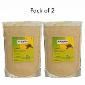 Yashtimadhu Powder - 1 kg powder - Pack of 2