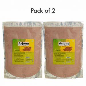 Arjuna Bark Powder for Heart Functioning - 1 kg Powder - Pack of 2