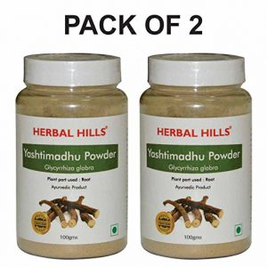 Herbalhills Prime Yashtimadhu Powder pack of 2