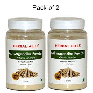 Herbalhills Prime Ashwagandha Powder Pack of 2