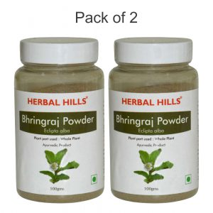 Bhringraj Powder – 100 Gms – Pack Of 2