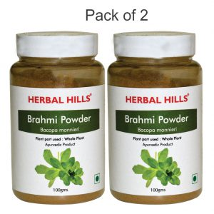 Brahmi Powder – 100 Gms – Pack Of 2