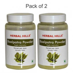 Baelpatra Powder - 100 gms - Pack of 2