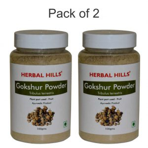 Gokshura Powder - 100 gms - Pack of 2