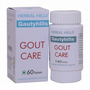Gout Care Tablets, uric acid reducer, gout management, gout pain relief, ayurvedic herbs to cure gout