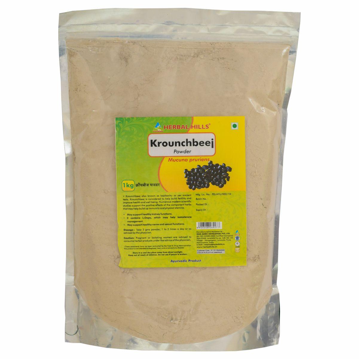 Ayurveda for men's health & vitality - 5 kg Krounchbeej Powder