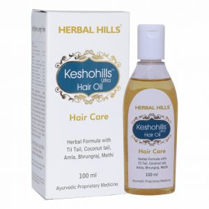 Herbal Hair Oil - Keshohills Hair Oil 100ml