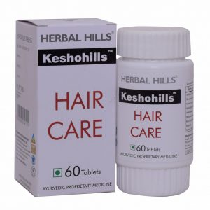 Natural Hair Care Formula - Keshohills 60 Tablets