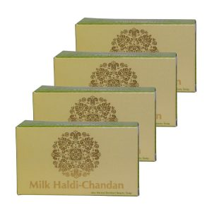 milk chandan turmeric soap