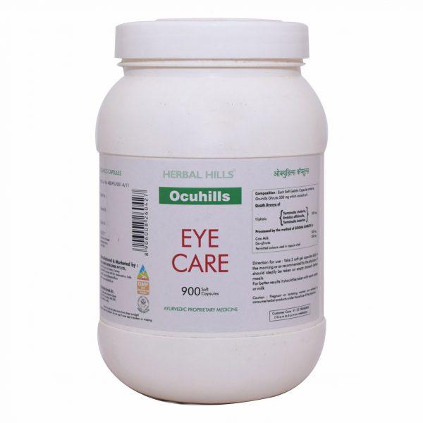 ocuhills capsules, eye supplements, eye health capsules, ayurvedic medicine to improve eyesight, ayurvedic eye care