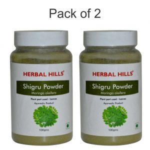 Shigru(Moringa) Powder - 100 gms - Pack of 2