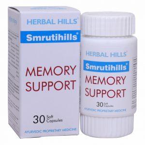 Brain Supplements Formula - Smrutihills 30 soft Capsule