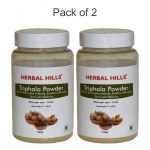 Triphala Powder - 100 gms - Pack of 2