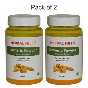Turmeric Powder - 100 gms - Pack of 2