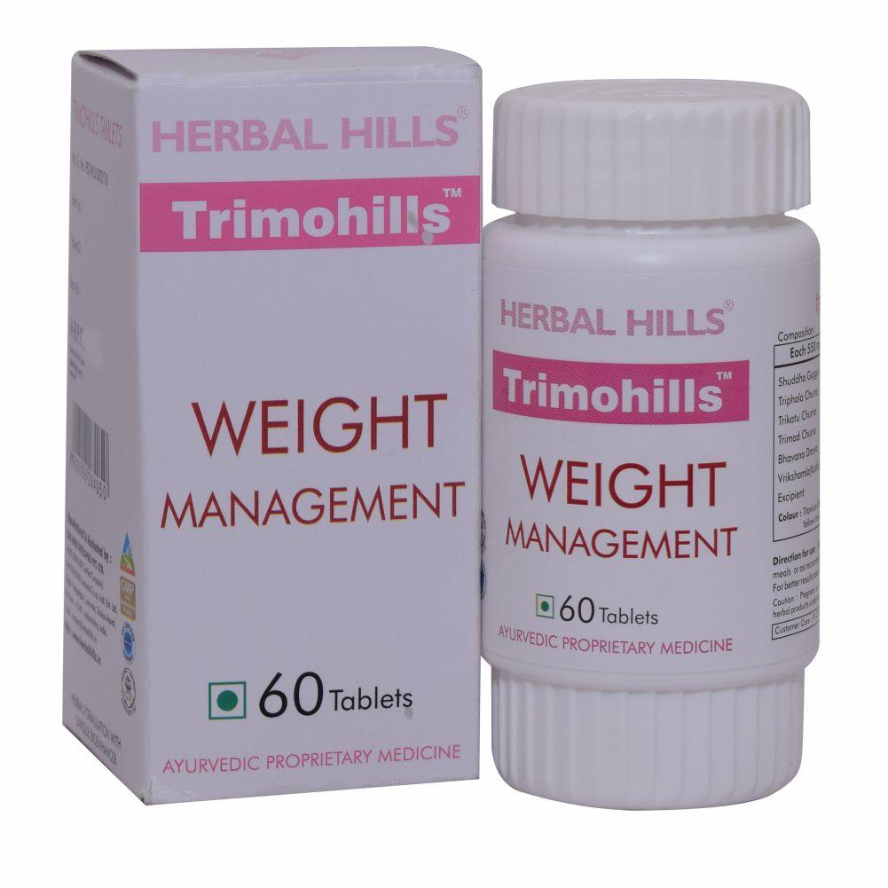 Natural Weight Loss Formula Trimohills 60 Tablets