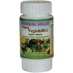 Super Vegiehills 60 Tablets - Green Veggie