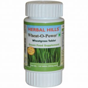 Wheatgrass Tablets (Pack of 120 Tablets) - Green Food Supplement