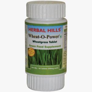 Wheatgrass (Wheat-O-Power) 60 Tablets - Green Food Supplement