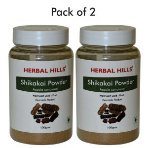 Herbalhills prime Shikakai Powder Pack of 2