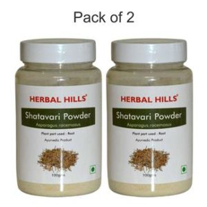 Herbalhills Prime Shatavari Powder Pack of 2