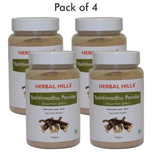 Yashtimadhu Powder - 100 gms - Pack of 4