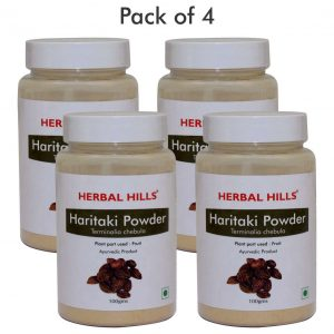 Haritaki Powder - 100 gms - Pack of 4
