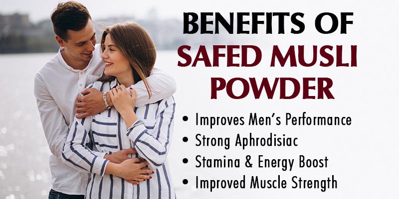 safed musli powder benefits