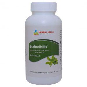 Herbal Hills Brahmihills - 120 Capsule
