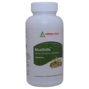 Herbal Hills Muslihills  120 Capsule