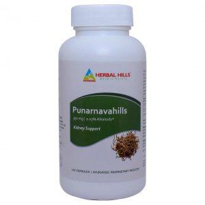 Herbal Hills Punarnavahills 120 Capsule