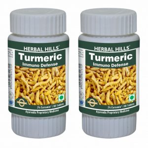 Turmeric 60 Tablets Pack of 2