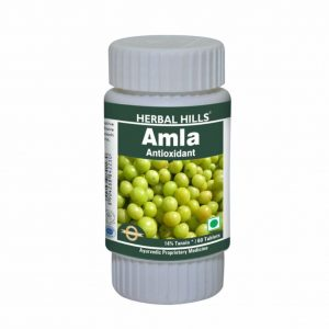 Herbal Hills Amla 60 Tablets/ Ayurvedic Amla or Amlaki Tablets for Immune Support