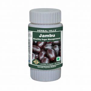 Herbal Hills Jambu Tablets - Jambuhills 60 Tablet