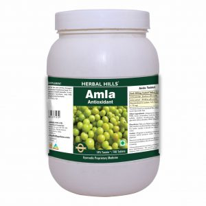 Herbal Hills Amla 700 Tablets Value Pack / Healthy Digestion / Hair Care / Eye Care