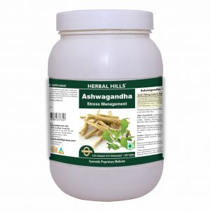 Herbal Hills Ashwagandha Tablets, 500 mg Ashwagandha root powder and extract with 0.8% Alkaloids and 0.5% Withanaloids, 700 Tablets, Stress Relief Supplement*, Strength & Mood Enhancer*, Immunity support*