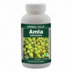 Herbal Hills Amla 120 Tablets