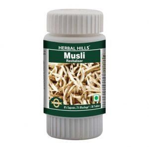 Herbal Hills Musli 30 Tablets