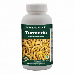 Turmeric 120 Tablets