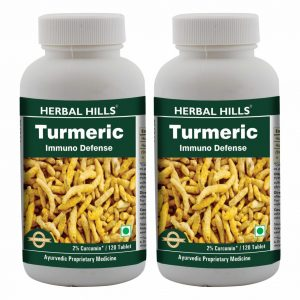 Turmeric 120 Tablets Pack of 2