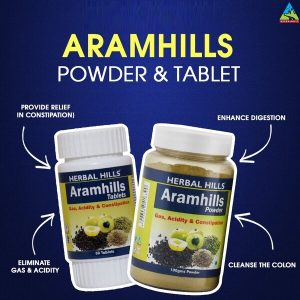 aramhills powder and tablets