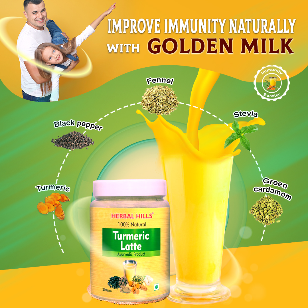 Golden Milk is a Natural Immunity Booster