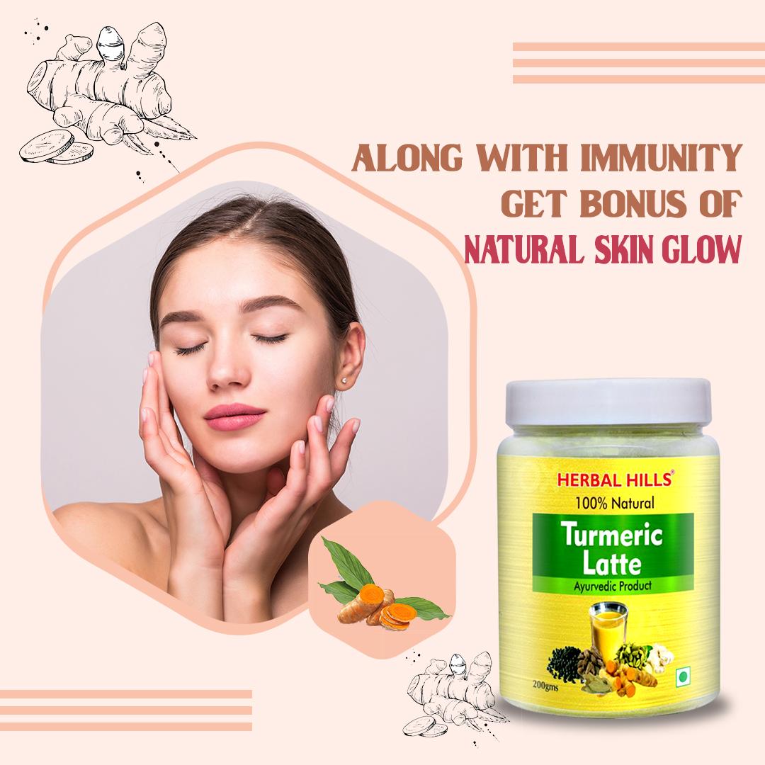 Improve Skin Health with Turmeric Latte/ Turmeric Milk
