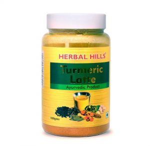 Herbal Hills Turmeric Latte 100 gm | Haldi Milk powder | Golden Milk Instant Mix, Turmeric Milk Instant Mix