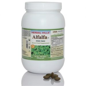 Alfalfa - 500 Tablets Super Saver Pack - Green Food Supplement