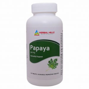 Papaya 120 tablets - Immunity booster 500mg carica leaf extract